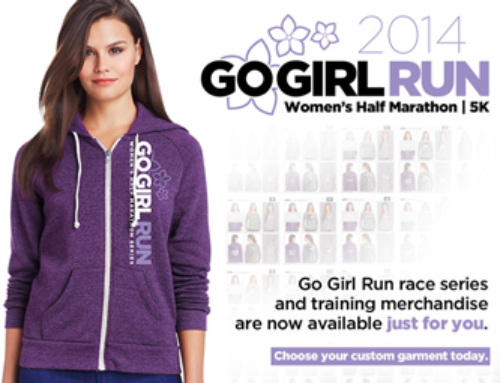 Go Girl Run Online Store Now Open!